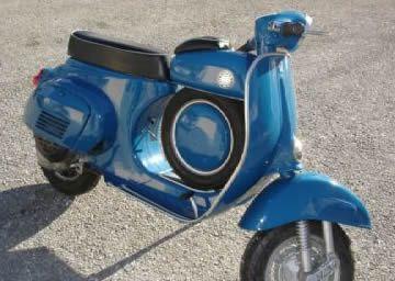 Scooter Vespa 50 Super Sprint , Vespa , Piaggio, Pontedera, Italie, Europe.