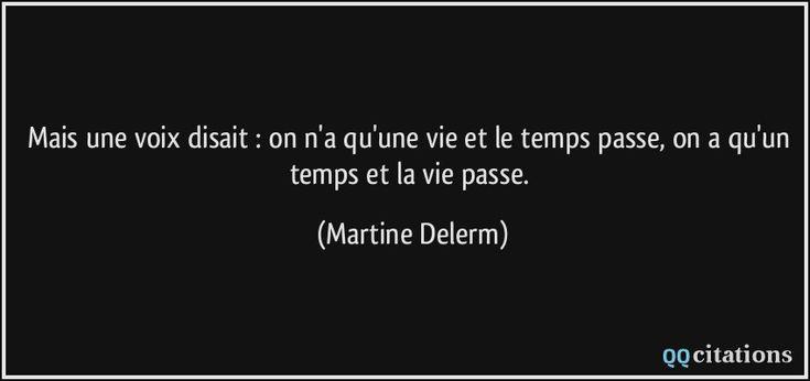 Une tasse de temps qui passe - Martine Delerm