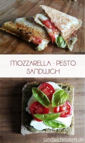 Rezept mit Mozzarella und Pesto – schnell und einfach
