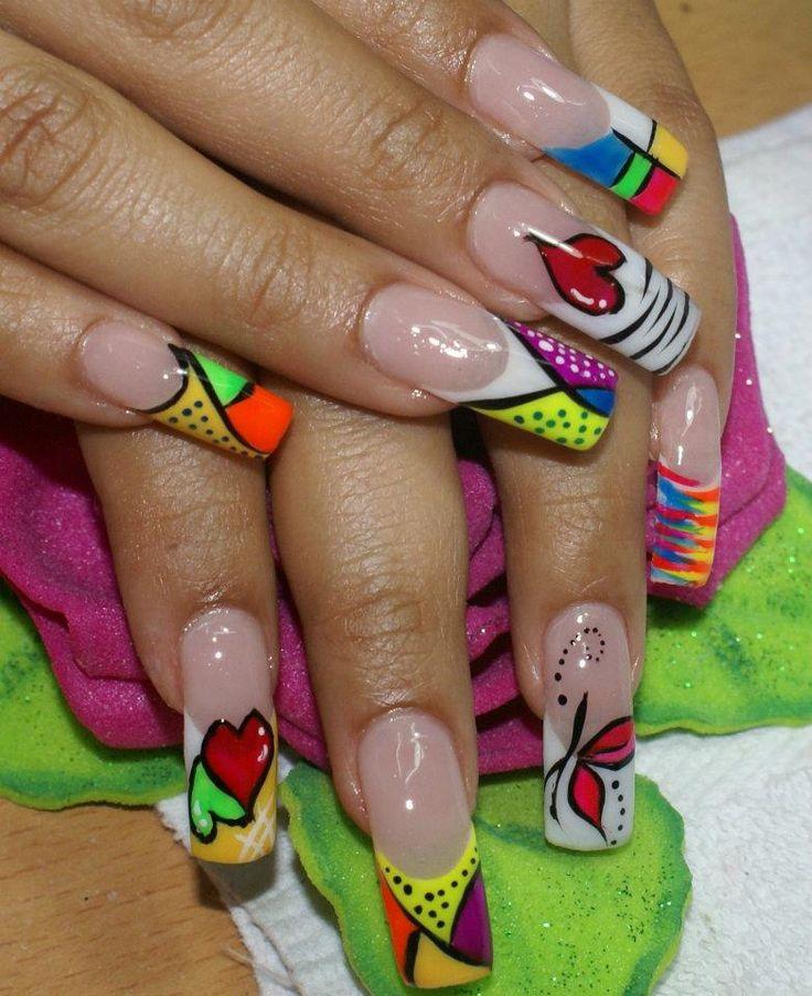 Un lintho diseño para tus uñas
