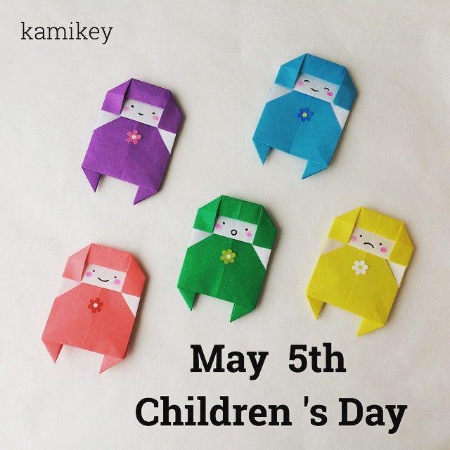 Today boy's festival and children 's day in みんな健やかに大きくなあれ! #origami#design#papercraft#paperfolding#折り紙#おりがみ#handmade #こどもの日#端午の節句#金太郎#japan#japanesecultuer