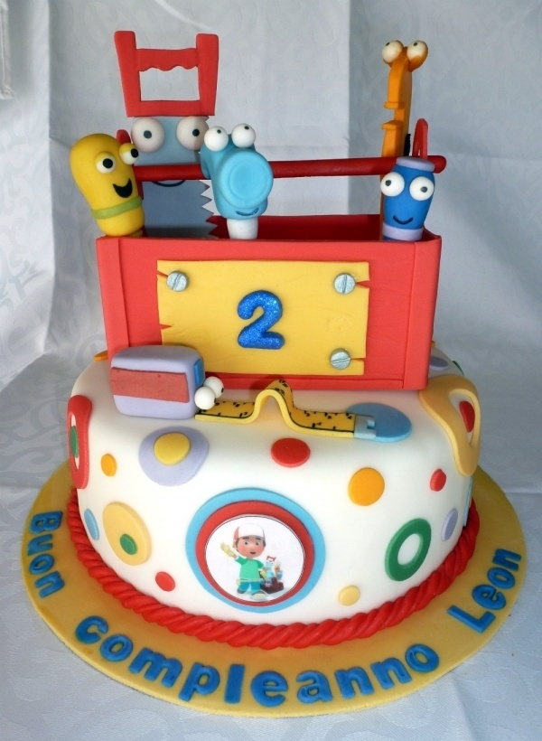 Adorable handy manny cake bizcochos pinterest for Handy manny decorations
