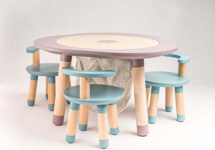 Mutable Transforms From A Design Table Into An All In One Play Table For Children Ages 1 Through 8 Childrens Play Table Kids Furniture Design Baby Play Table