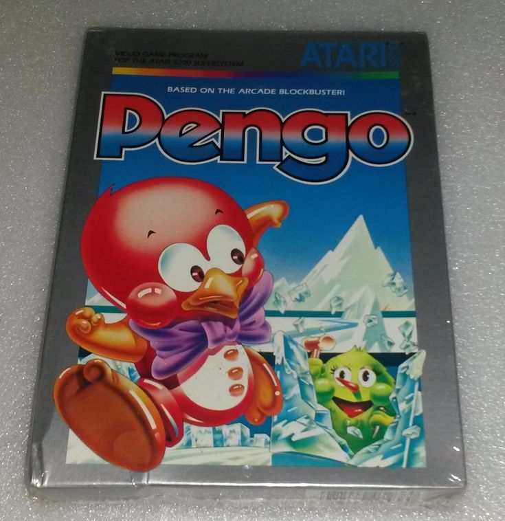 PENGO for Atari 5200 VGS Computer System Cartridge game Brand New NIB