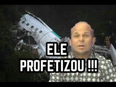 VIDENTE PROFETIZA QUEDA DE AVIÃO E MORTE DO CHAPECOENSE  #MistériosDoMundo
