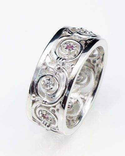 wiccan wedding rings unique handmade celtic jewellery in silver gold and platinum - Pagan Wedding Rings
