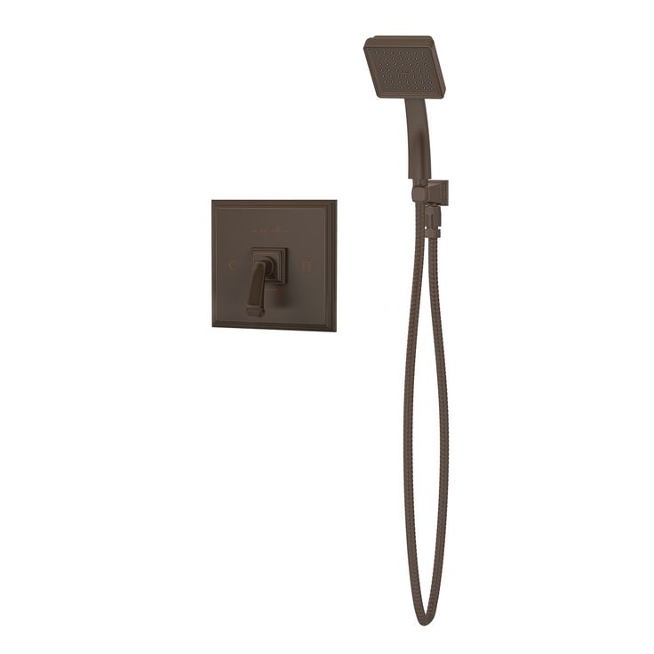 Oxford Pressure Balance Hand Shower Unit with Lever Handle
