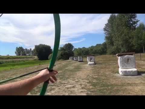 How To Build a Youth Bow and Arrow Set - Part 4 - Shooting the Finished Set - YouTube