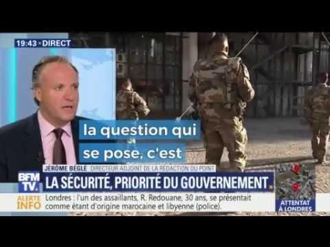 """Christophe Barbier, Caroline Fourest etc s'eprime sur l'état d'urgence et la sécurité priorité de """"notre"""" président Macron. Le 4eme pouvoir est en marche con..."""