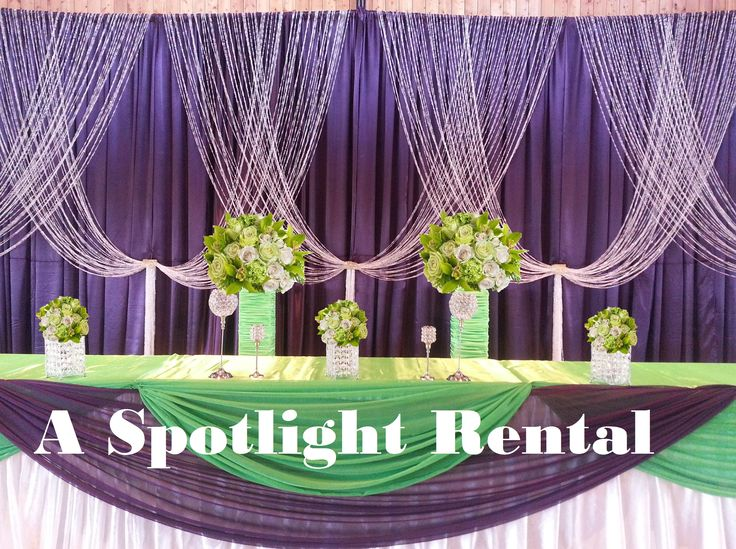 A Spotlight Rental   A Spotlight Rental.2015 On Facebook Wedding Event  Backdrop Ceremony Crystal
