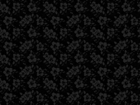 """Midnight Aloha"" by candycrack Black, Charcoal, Dark, Grey, aloha, floral, flowers, goth, gothic, monochrome"