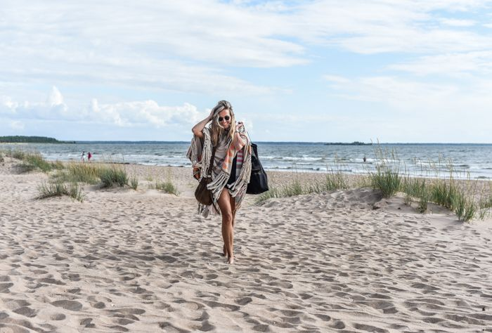 finland yyteri beach summer