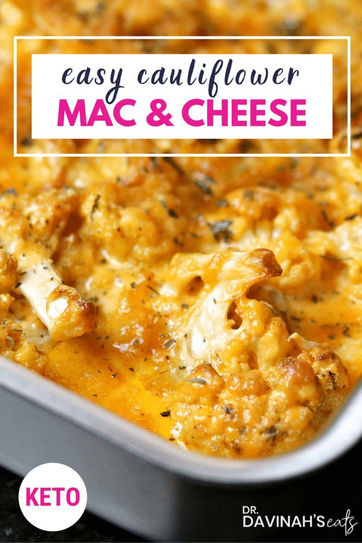 Keto Cauliflower Mac And Cheese Recipe With Images Food