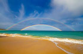 rainbow at the beach - Google Search