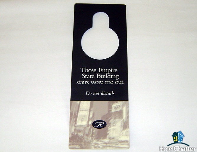The Best of The Do Not Disturb Signs - Photos || HotelChatter