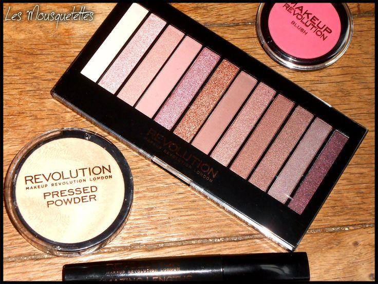 """Conquise par #Makeup Revolution London et sa #palette iconic 3 dupe soit disant """"parfait"""" de la #Naked 3? makeup"""