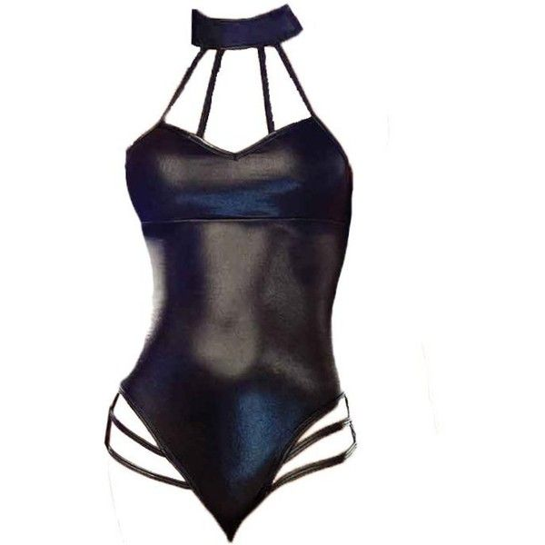 Amazon.com: Womens Underwear, FTXJ Sexy Lingerie Jumpsuits Stripper... ($4.48) ❤ liked on Polyvore featuring intimates and sexy lingerie
