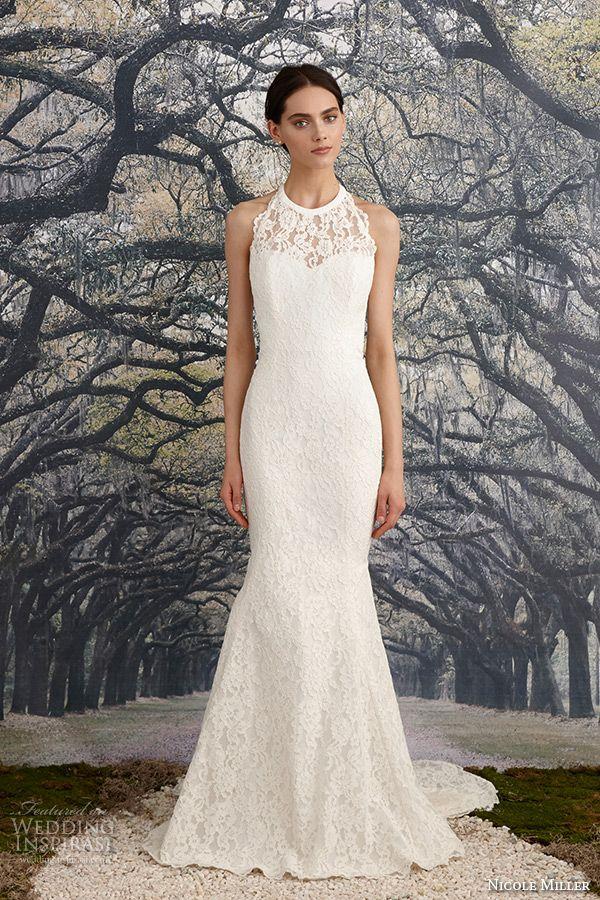 Vestidos De Novia For Sexy 2015 Beach Brides Hot Sale Cheap 2016 Spring Bridal Halter Backless Mermaid Trumpet Fit and Flare Wedding Dresses