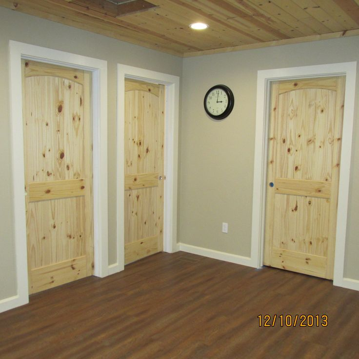 All knotty pine doors Find your perfect door at www.falcondoorco.com !