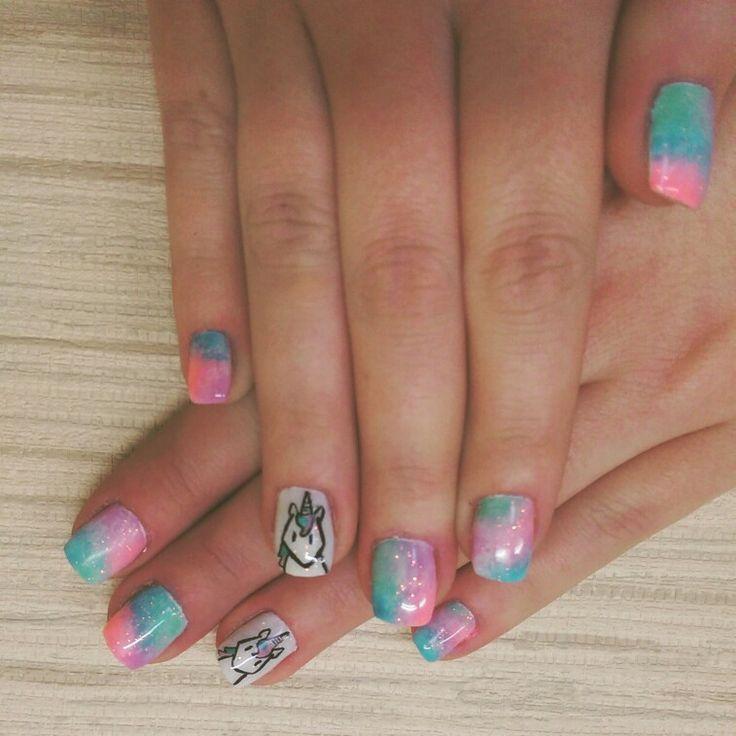 #unicornnails