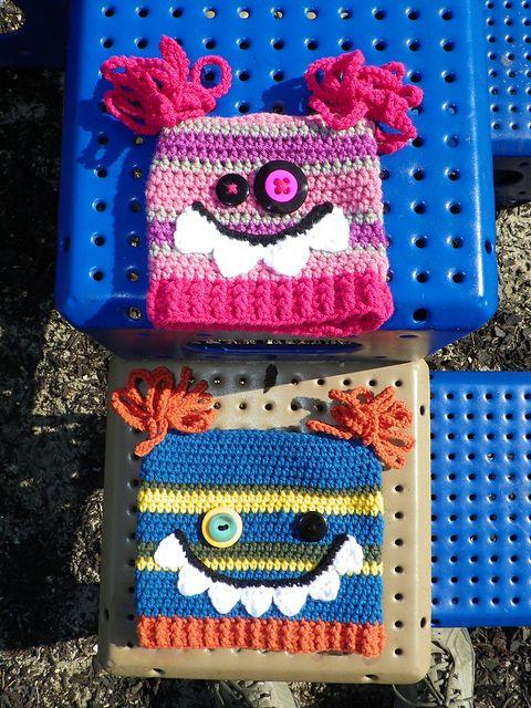 Ravelry: Ugly Monster Hat Pattern pattern by Yarn Artists