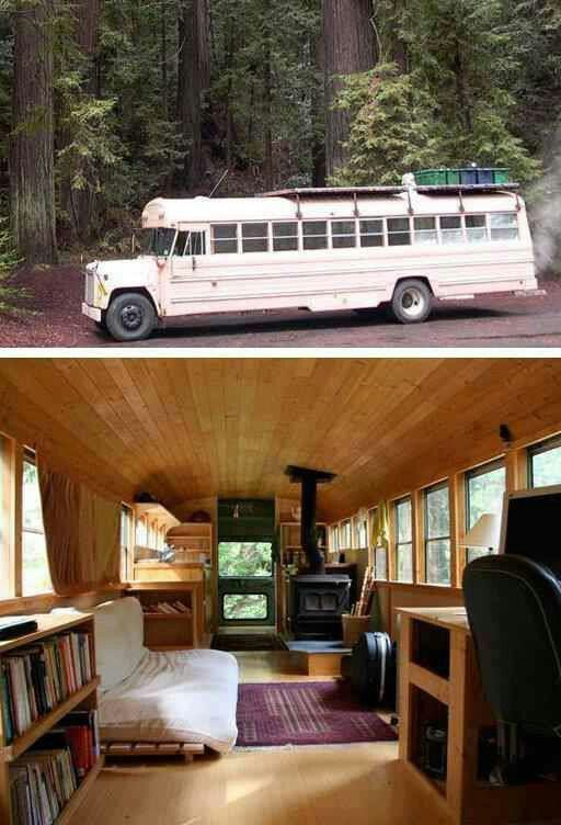 Zombie apocalypse mobile home. {actually I would take as my all the time home}