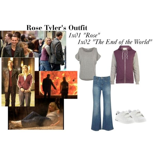 """""""Rose Tyler's Outfit from """"Rose"""" and """"The End of the World"""""""" by erulisse17 on Polyvore"""