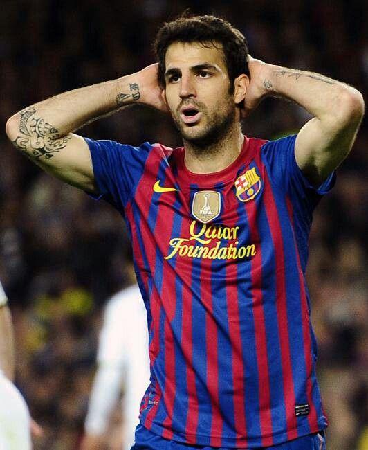 Cesc Fabregas #Barcelona
