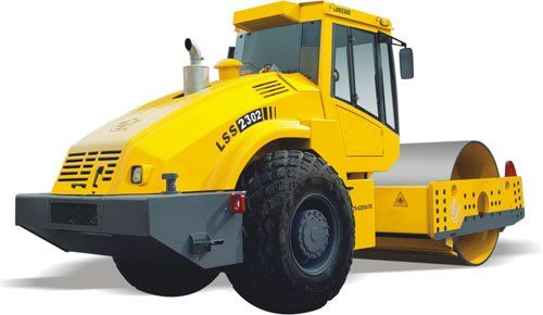 colossal earth moving equipment for dams   Engine mounted with backward power output and turnover engine hood ...