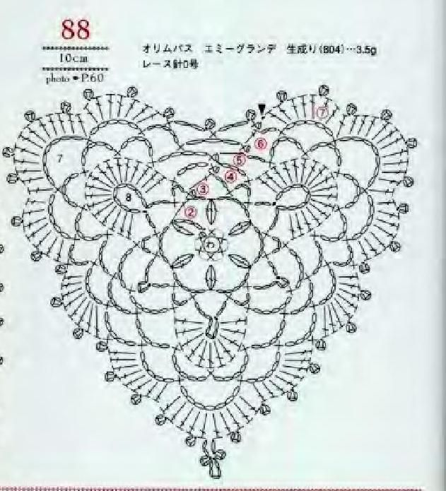 #ClippedOnIssuu from Asahi original crochet heart pattern