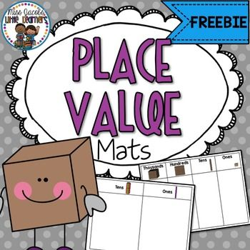 Place Value Mats:These Place Value Mats come in colour and black and white.**Print and enlarge each place value mat to A3 size then copy onto coloured card and laminate for best results.**Place Value Mats covers:Thousands, hundreds, tens and ones.MAB & Bundling SticksHave you seen my Place Value Number Expanders?This product is aligned with:*U.S Common Core**Australian National Curriculum*********************************************************************************For more teaching id...