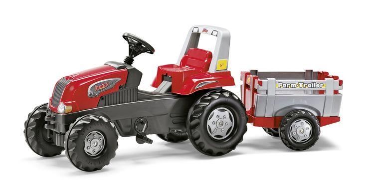 Rolly Toys - 80 026 1 - Tracteur À Pédales - Rollyjunior Rt + Remorque: Amazon.fr: Jeux et Jouets