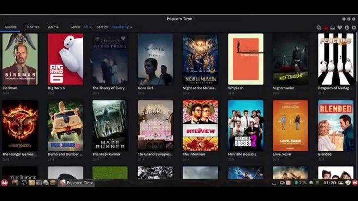 MakuluLinux Cinnamon native movie streaming...
