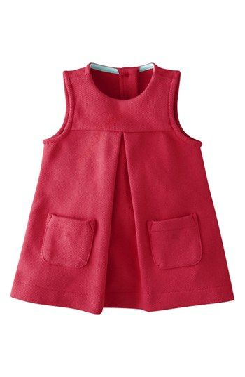 Mini Boden Jersey Pinafore Dress (Baby Girls) | Nordstrom