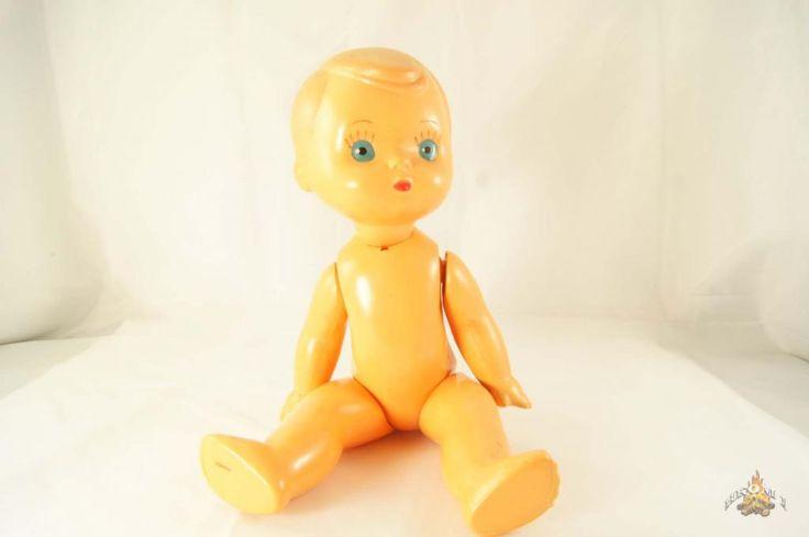 Кукла целлулоид из СССР для советских девочек 60-х