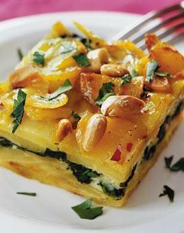 Rezept: Spinat-Kartoffel-Auflauf