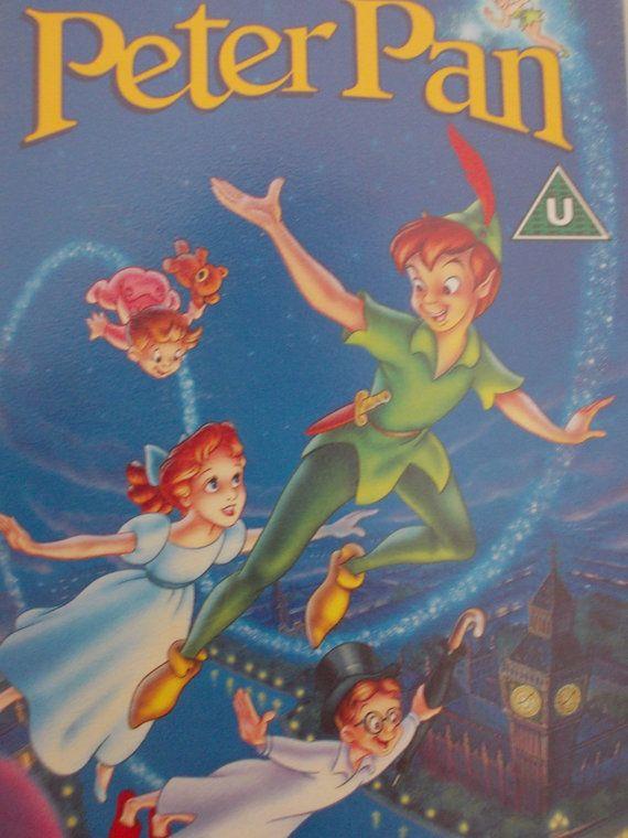 Peter Pan Film VHS Vintage 1993 Walt Disney Classics by JirjiMirji, €25.90