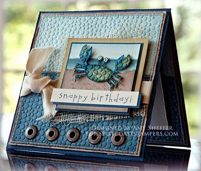 By Amy Sheffer at Pickled Paper Designs. can be a masculine birthday card. For My handmade greeting cards visit me at  My English Personal blog: http://stampingwithbibiana.blogspot.com/