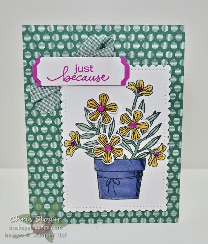 Basket Of Blooms Handmade Cards Stampin Up Stampin Up Cards Cards Handmade