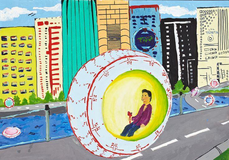 Tyre Car - Elman Khamdiev | Toyota Dream Car Art Contest