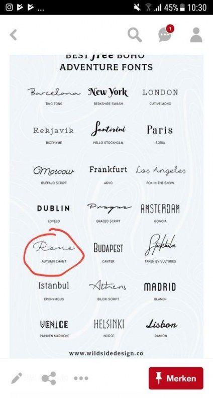 45+ Ideen für Tattoo-Schriften Tipografia – ##tattoo #ideen #schriften #tipogra…