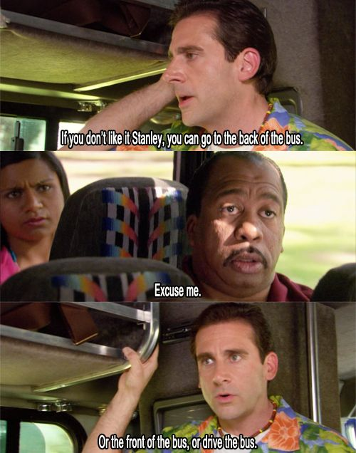 Classic scene from The Office