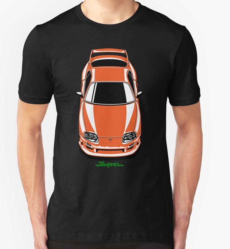 """Toyota Supra"" T-Shirts & Hoodies by OlegMarkaryan | Redbubble"