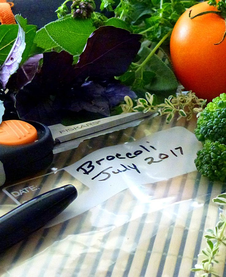 Freeze produce from your garden to preserve fresh flavors. You can enjoy vegetables, herbs and edible flowers for months to come. Click in to learn how to harvest, blanch and store your garden harvest for this coming winter.