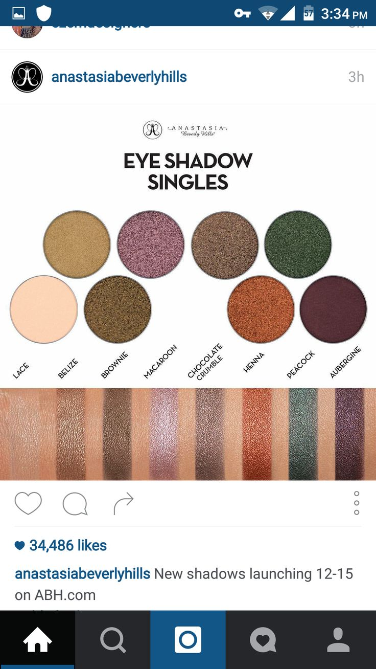 Abh Eye Swatch ABH Eyeshadow Single