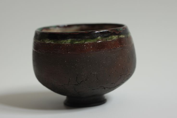 "tea-bowl ""Bid Green"""