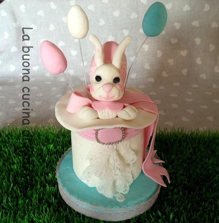 Katty's cakes - Le torte di Katty : Torta coniglietto - bunny cake