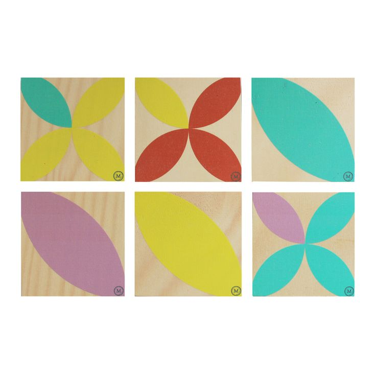 SUMMER TIME - BEACH UMBRELLA These coasters in this fun and playful colour palette are a great addition to any coffee table!  See our website for matching placemats also. Dimensions per Coaster: 100mm (w) x 100mm (h)  x 9mm (d) $30 Set of 4 / $50 Set of 6