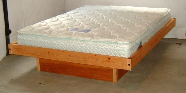 Build a queen size platform bed on the cheap The plans include dimensions for a twin Easy DIY Platform Bed If you missed the Free Plans