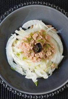 Piatto fresco ed estivo: #tartara di finocchio e tonno http://ebx.sh/1L8VloI #cucina